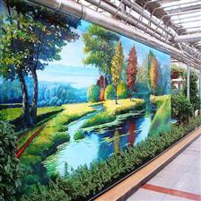 深圳城市文化墙壁画