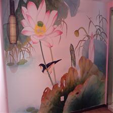 深圳家庭手绘墙体壁画艺术