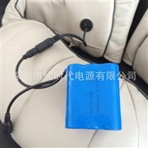 3.7V/7.4V便携按摩腰带按摩披肩按摩椅/靠垫锂电池2200mAh足容量