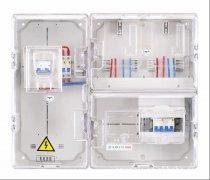 西安联电UETX-DB家庭透明电表箱2户暗装批发