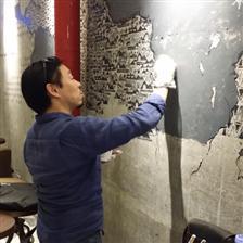 深圳今点墙体彩绘艺术,为厦门星巴克咖啡馆画的墙体壁画