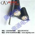 RVVG吊机电缆,带钢绳电缆,带钢丝吊机电缆1.25mm2×10C