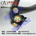 RVVG吊机电缆,吊机专用带钢丝绳电缆1.25mm2× 10C