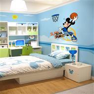 灵动的儿童房间墙体彩绘