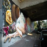 城市建筑墙绘涂鸦艺术