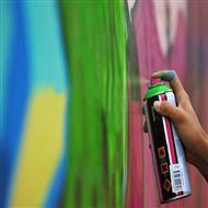 今点艺术独特的墙绘涂鸦