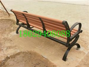 北京塑木休闲椅_公园椅_户外座椅_园林椅子落户北京大兴滨河公园啦!