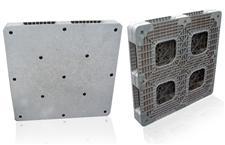 平板塑料进口二手卡板单面-双面效果图