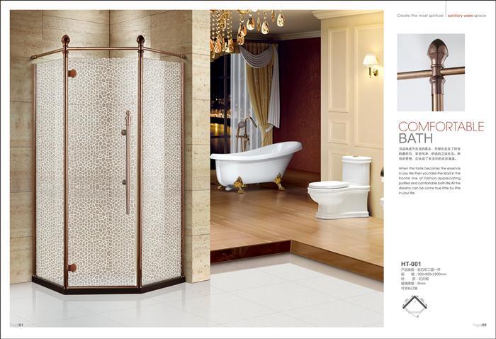 皇泰安全艺术淋浴房
